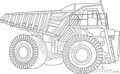 Big truk contour