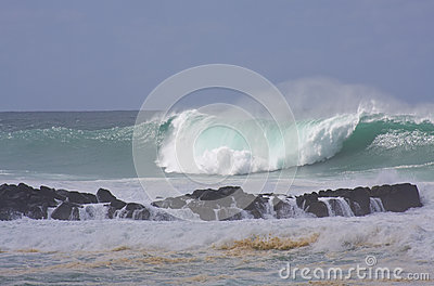 Big Wave, North Shore Oahu, Hawaii