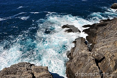Big waves in Mediterannean Sea