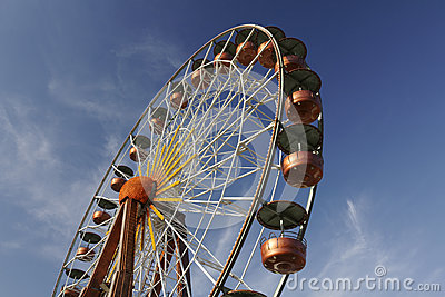 Big wheel in Southern France