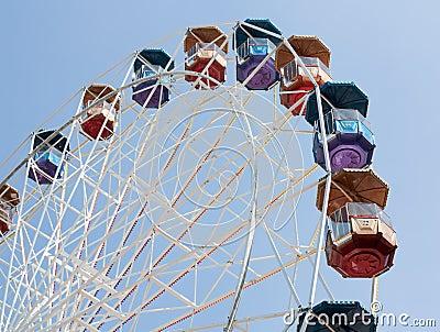 Big wheel. Nobody