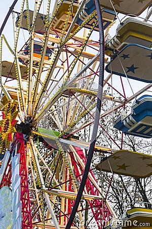 Big wheel in the Parco Sempione