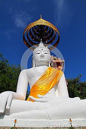 The Big White Buddha