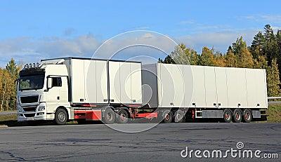 Big White Truck