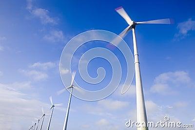Big winds turbines