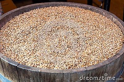 Grains barrel