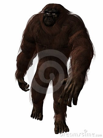 Free Bigfoot Royalty Free Stock Photo - 2180955