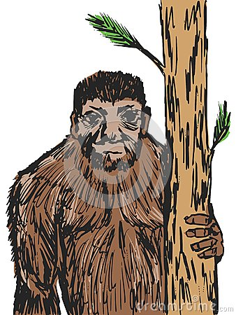 Bigfoot Vector Illustration