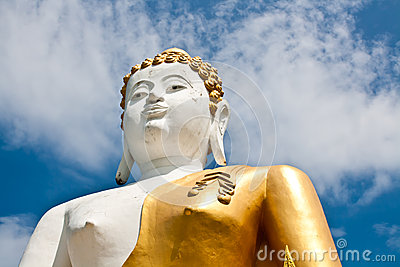 A biggest Buddha in Thailand