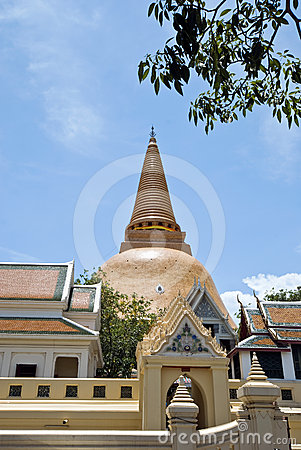 Biggest stupa in Thailand