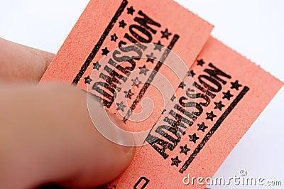 Biglietti di ammissione