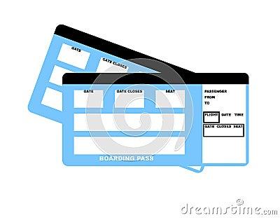Biglietti di linea aerea