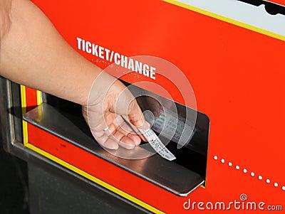 Biglietto del carrello