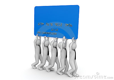 Biiiiig credit card