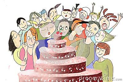 Biirthday Cake