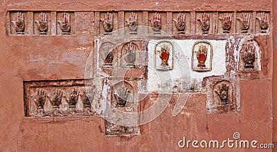 Bikaner hand prints