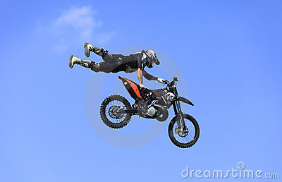 полет bike Редакционное Стоковое Фото