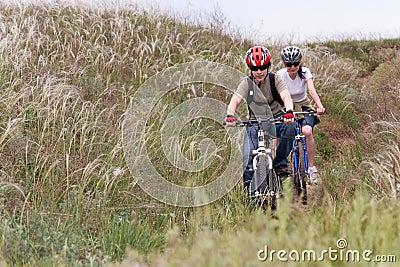 подросток горы bike