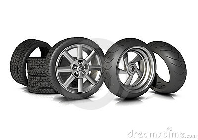 Bike and Car Tyres