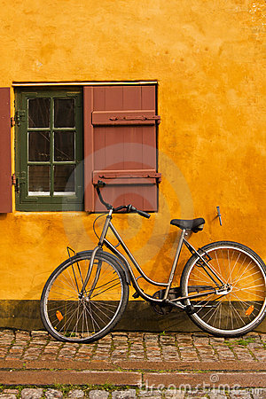 Bike and cottage