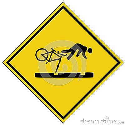 Free Bike Crash Sign &x28;AI Format Available&x29; Stock Photos - 690933