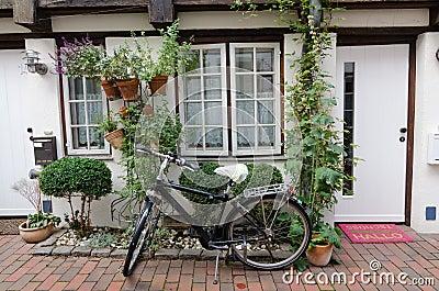 The bike at the Door