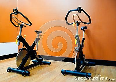 Bike in gym