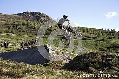 Bike jump Editorial Photo