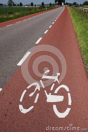 Free Bike Lane Royalty Free Stock Images - 15116389