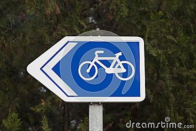 Bike lane signal