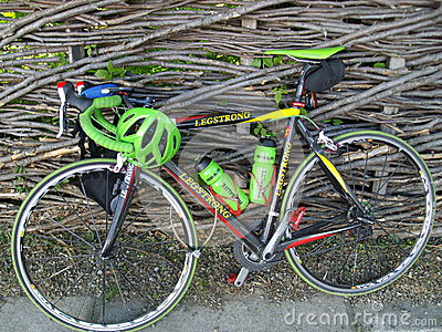 Bike Legstrong Editorial Photo