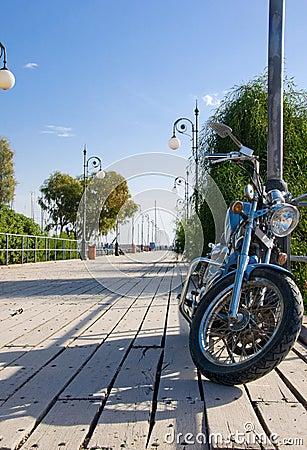 Free Bike On The Pier Stock Photo - 7374740