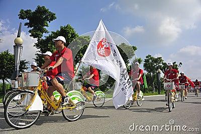 Bike parade Editorial Image