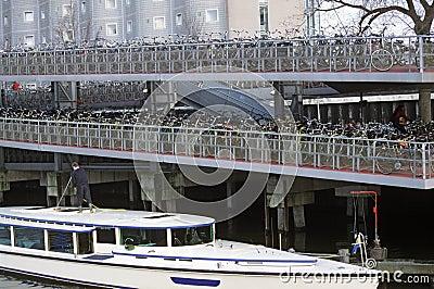 Bike Parking Lot , Amsterdam