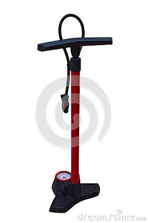 Free Bike Pump Isolated With PNG File Attached Stock Images - 85917574