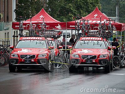 Bike Race - Team Volvo Editorial Image