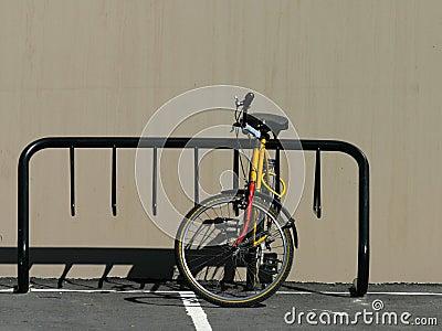Bike Rack with bike