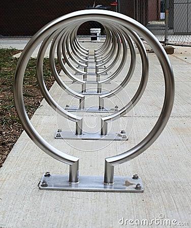 Free Bike Racks Stock Photography - 18644352