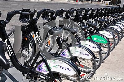 Bike Rental Editorial Photography
