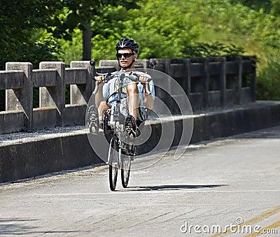 Bike Ride Across Georgia Editorial Stock Photo