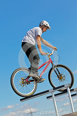 Bike rider Editorial Image