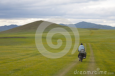 Bike Touring Across Mongolia