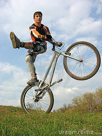 Bike trick 2