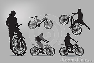 Bike. Vector illustration