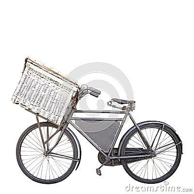 Bike on white