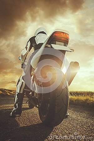 Free Biker Royalty Free Stock Photography - 43479777