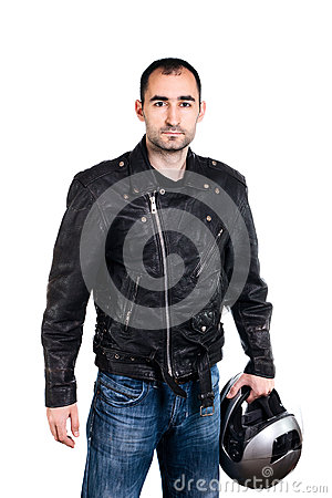 Free Biker Royalty Free Stock Photography - 60722037