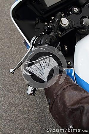 Biker glove