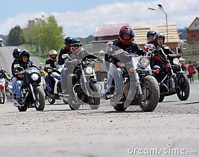 Biker Editorial Image