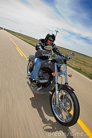 Biker ride Editorial Image